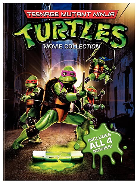 Amazon.com: Teenage Mutant Ninja Turtles Movie Collection ...