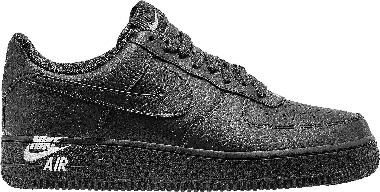 Nike Air Force 1, Men's Trainers BlackBlack White