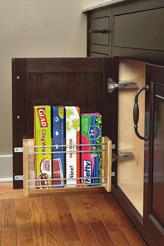 Rev a shelf door mount kit - Amazon Com Rev A Shelf 4wfr 18 1 Wood Door Mount Foil Rack Medium Natural Home Kitchen