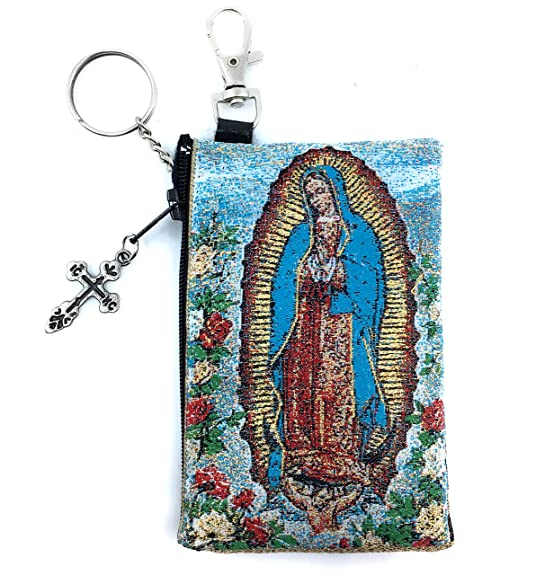 Amazon.com: Nuestra señora Guadalupe St Michael Tapestry ...