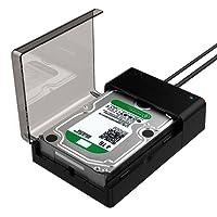 Sabrent USB 3.0A SATA Disco Duro Externo estación de Acoplamiento para 2.5o 3.5Planos en Apoyo HDD, SSD [UASP y 4TB] (EC-dflt)