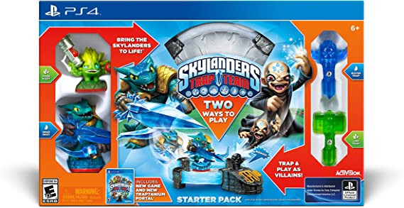 Activision Skylanders TrapTeam Starter Pack, PS4 - Juego (PS4 ...