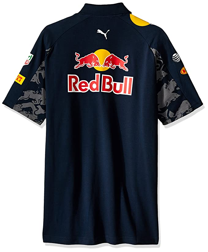 Red Bull Racing Mens Team Polo 2016, Hombre, Total Eclipse, XXL ...