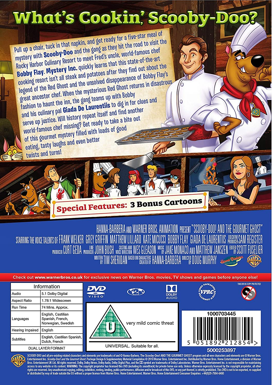 scooby doo and the gourmet ghost 2018 full movie online
