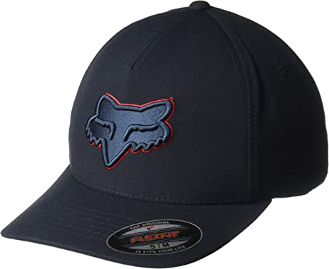 Gorra Flexfit visera redondeada Fox Epicycle Gris Gris: Amazon.es ...
