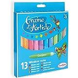 Sentosphère - 9302 - Loisir Créatif - Pochette DE 13 Crayons Window Color