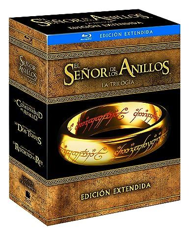 Trilogía El Señor De Los Anillos Extendida Blu-Ray Blu-ray: Amazon ...