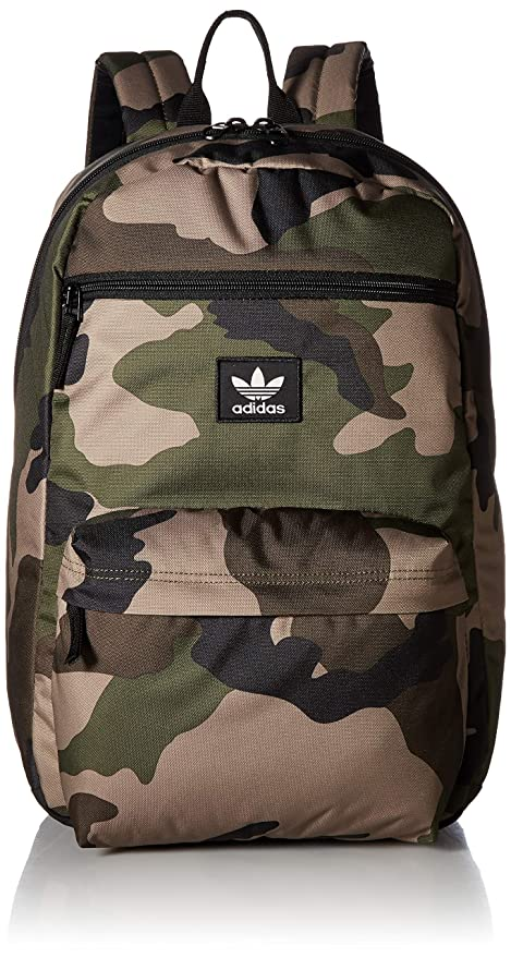 adidas Originals National Backpack, Olive Cargo Aw Camo, One Size best gym backpacks