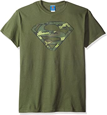 DC Comics Superman - Camiseta de manga corta para hombre: Amazon.es: Ropa y accesorios