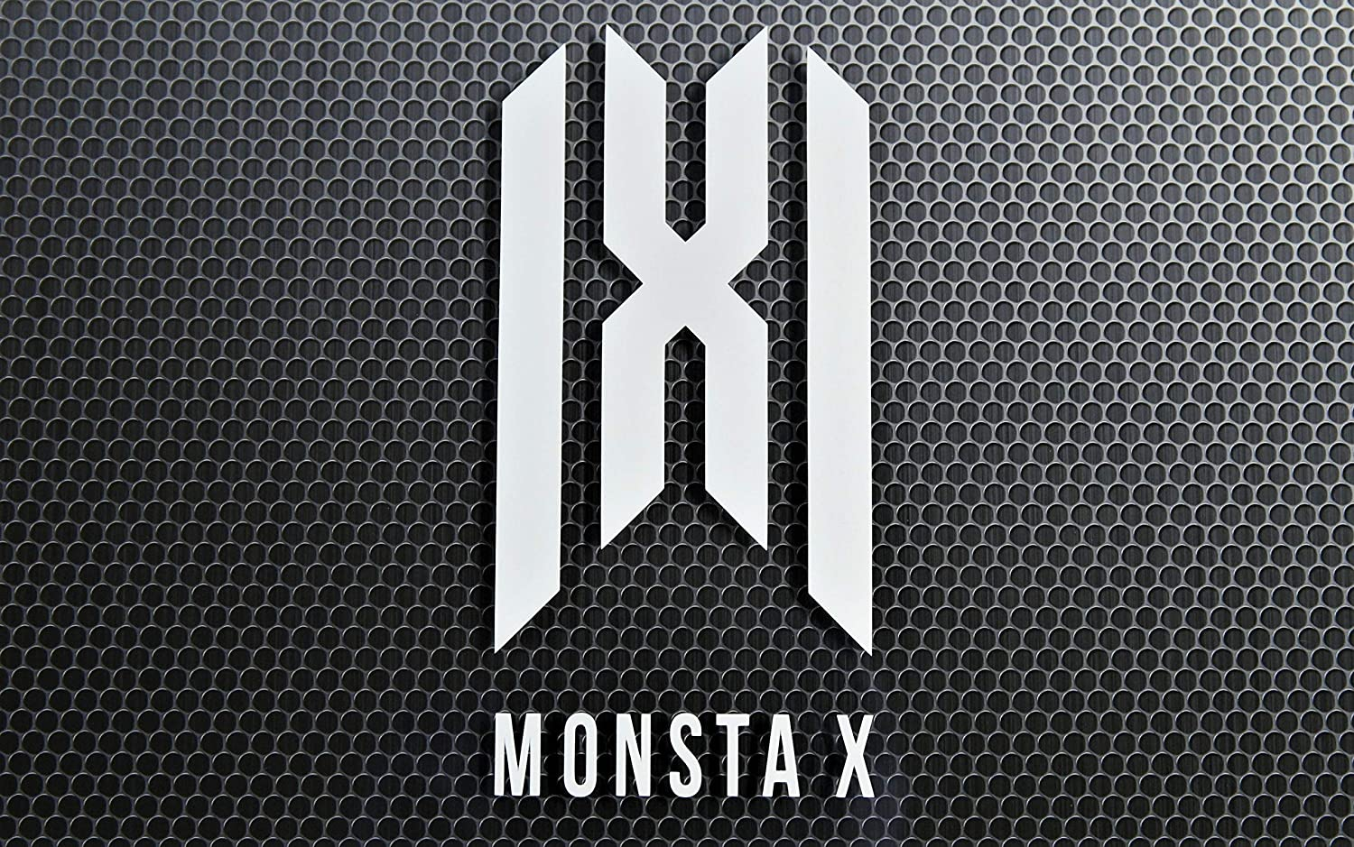 """New""""MONSTA X"""" Logo 6"""" Tall Premium Decal Vinyl Select color from the option menu."""