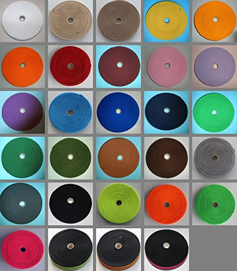 1006-hellgrau gewebt 1m Gummiband 20mm breit