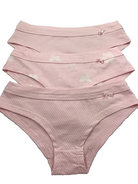 884795c96ec Women's/Girl's 3 Pack Comfortable Cotton Panties Ultra-Soft Underwear Brief  Boyshort