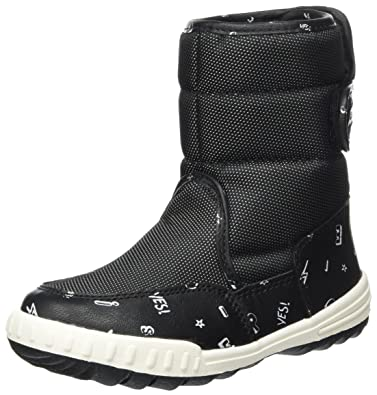 Eu Hiker Esprit De Noir Neige Mixte Bottes Enfant 30 black Boot vRAdv