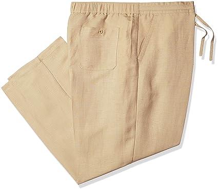1aeeb1fe9b7e1a Cubavera Men's Drawstring Pant with, Cornstalk, 1X-Large x 30L ...