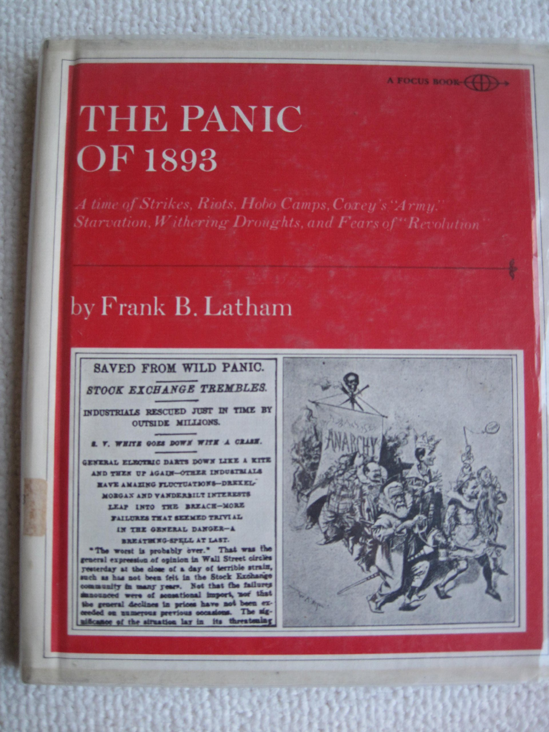 The panic of 1893 a time of strikes riots hobo camps coxeys the panic of 1893 a time of strikes riots hobo camps coxeys army starvation withering droughts and fears of revolution a focus book frank fandeluxe Image collections