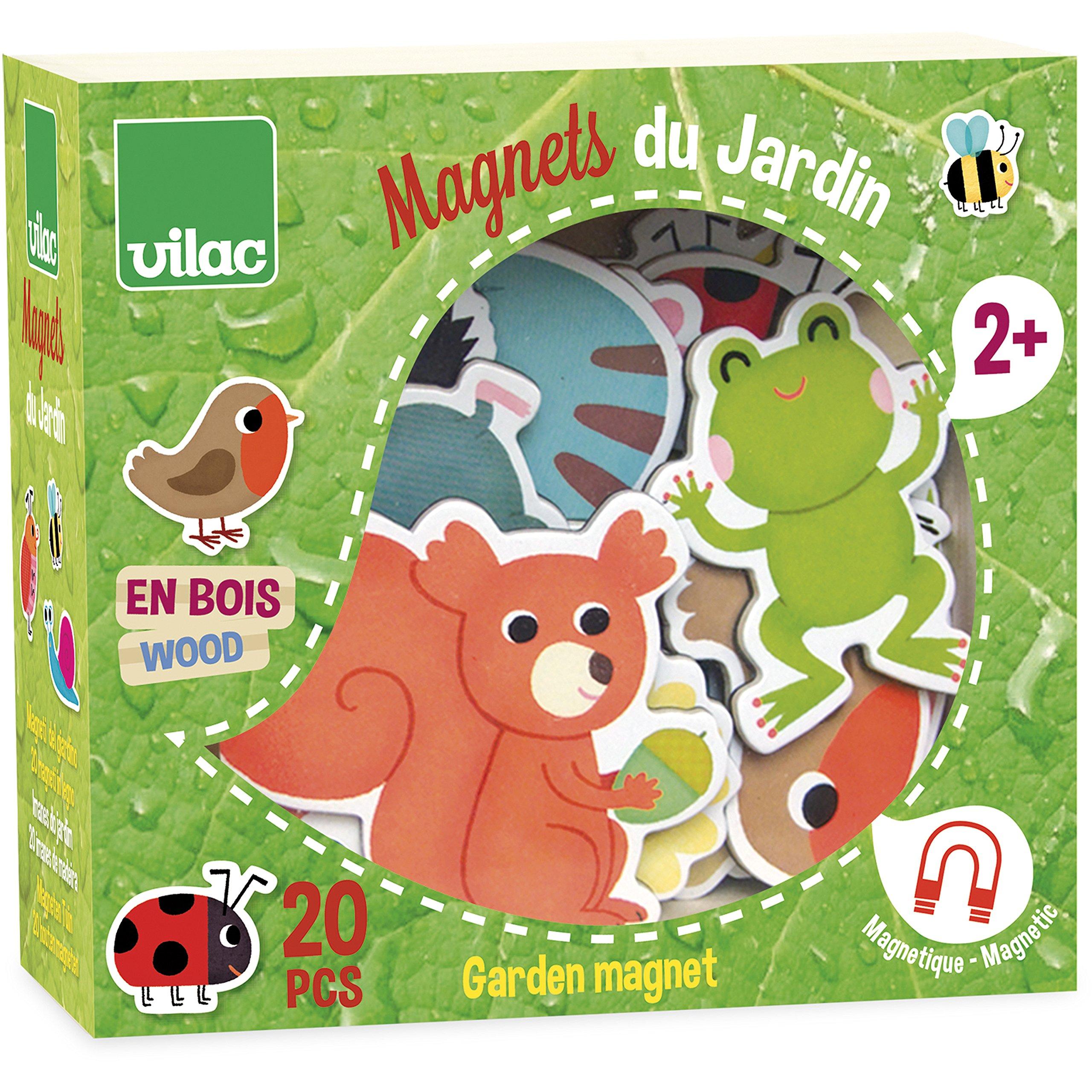 Vilac - 8026 - Jouet De Premier Age - Magnets Jardin product image