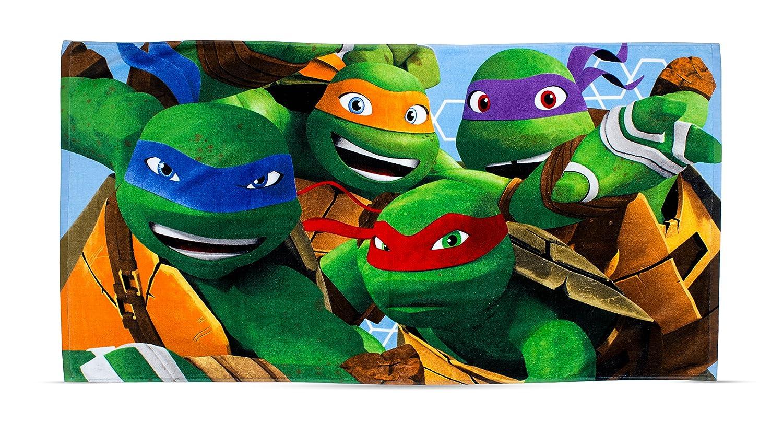 Toalla de Las Tortugas Ninja dimensión: Amazon.es: Hogar