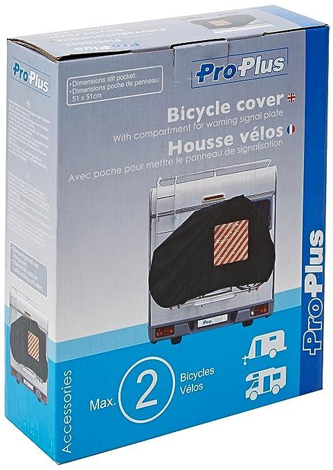11 opinioni per ProPlus 330286 Telo copertura 2 bici con scompartimento segnale di avviso