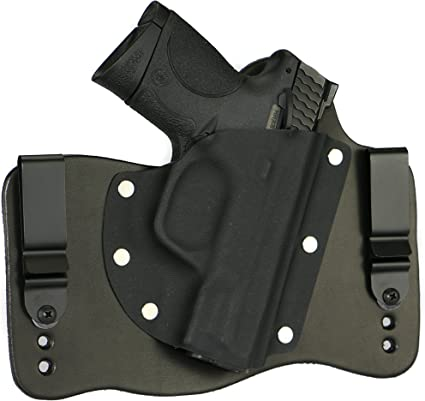 Houston Holster Paddle Gun Taurus Pt111 G2 Smith /& Wesson M/&P New Suide like RH