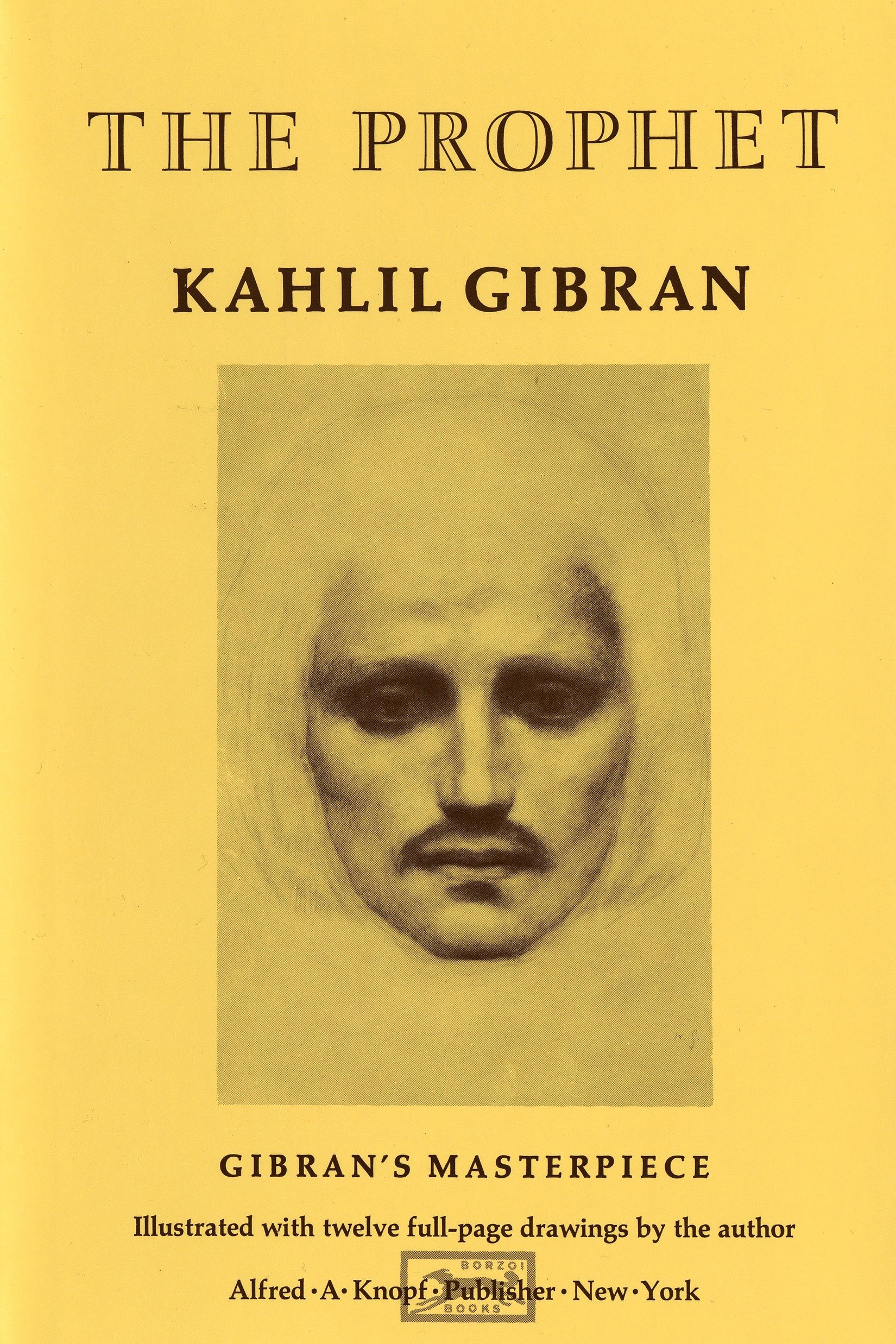 Image result for The Prophet by Kahlil Gibran.