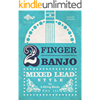 2-FINGER BANJO: MIXED LEAD STYLE: VOL. III (english) book cover