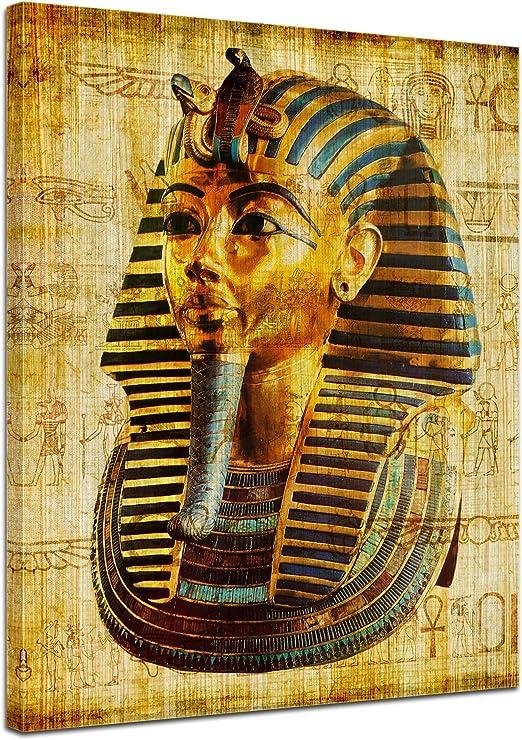 Bilderdepot24 Cuadros en Lienzo Faraón - Egipto - 30 x 40 cm ...