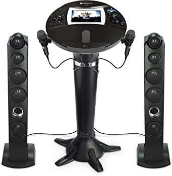 The Singing Machine iSM1060BT All-Digital HD Karaoke System