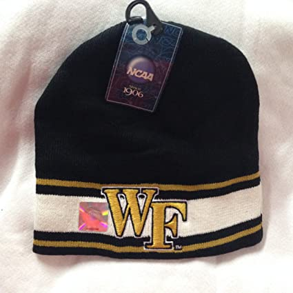 detailed look 40bb6 ce221 hot top of the world wake forest demon deacons ezdozit knit beanie black  433db 3219b  where can i buy wake forest deamon deacons black beanie cf93b  1e34b