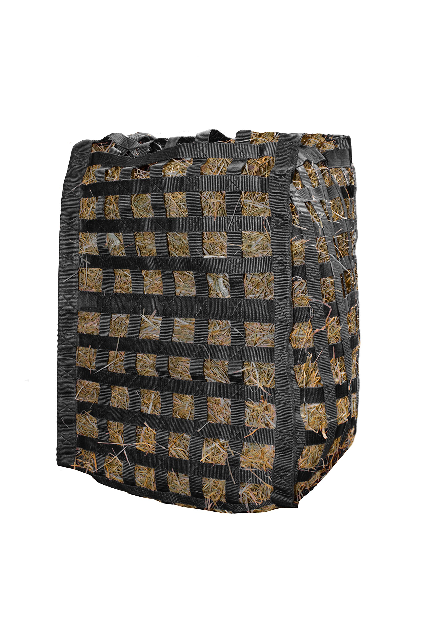 Derby Originals Natural Grazer Patented Four Sided Slow Feed Horse Hay Bag with One Year Warranty by Derby Originals (Image #1)