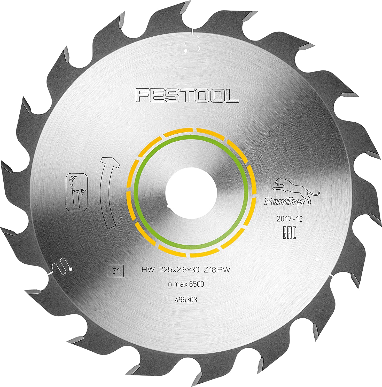Festool 492049 Hoja de sierra Panther 190x2,6 FF PW16