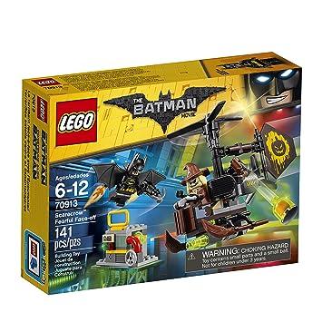 Amazon.com: LEGO BATMAN MOVIE Scarecrow Fearful Face-Off 70913 ...