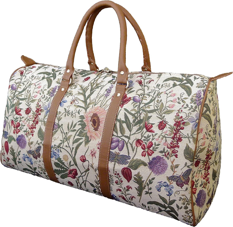 Signare 27527-Dog Dog Large Tapestry Duffle Bag