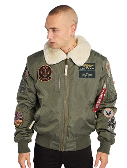 Alpha Industries Injector III Patch Jacke