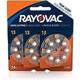 RAYOVAC Size 13 Hearing Aid Batteries, 24-Pack, L14ZA-24ZMB