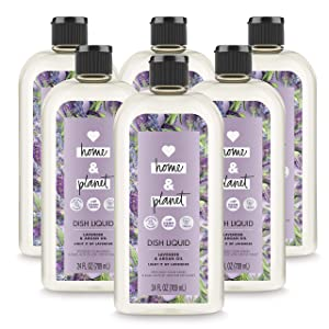 Love Home and Planet Dish Soap Lavender & Argan Oil