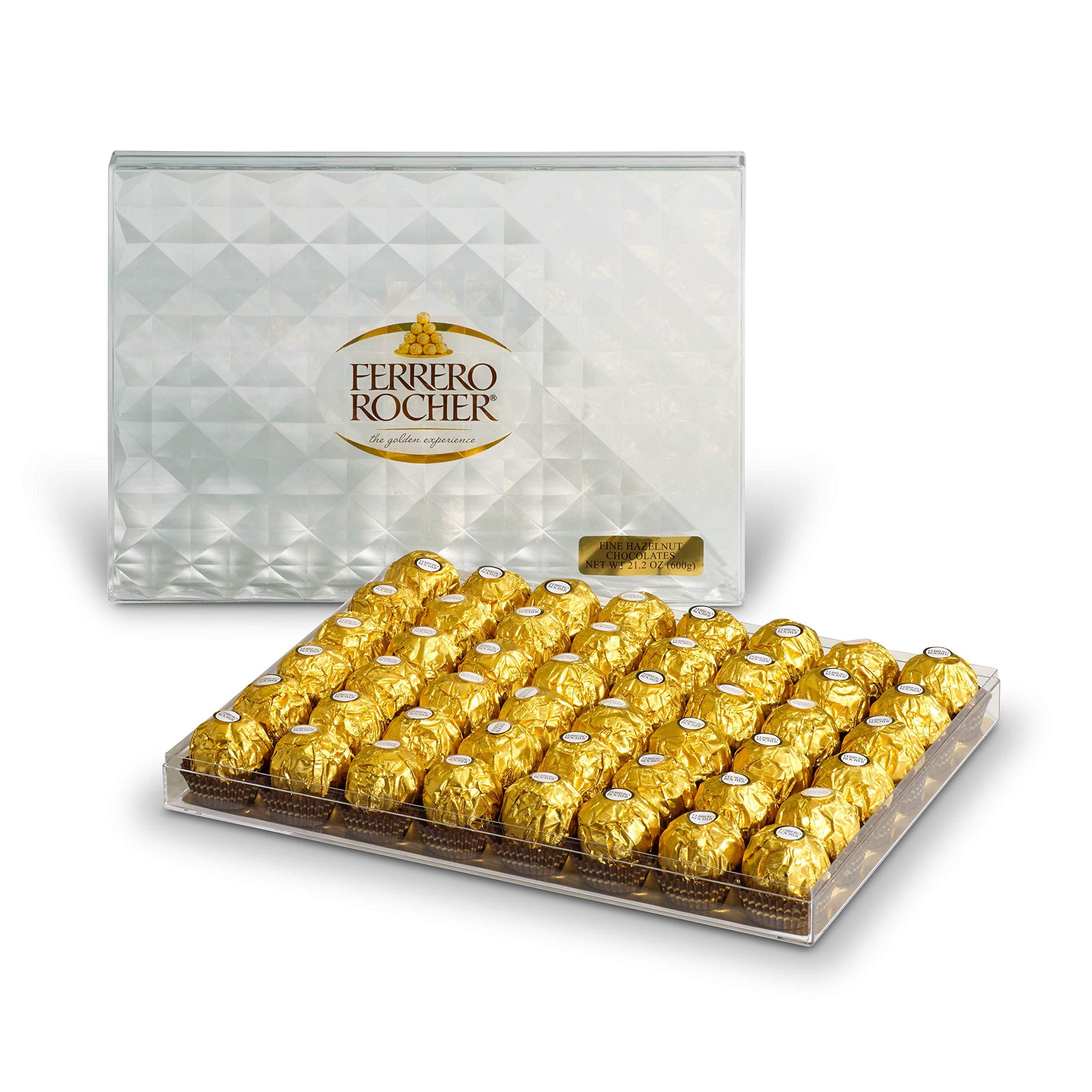 Ferrero Rocher Fine Hazelnut Chocolates, 21.1 Oz, 48 Count by Ferrero Rocher (Image #5)
