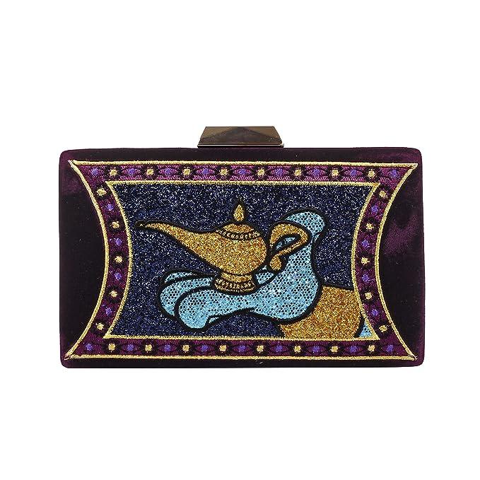 DANIELLE NICOLE Bolso Clutch Aladdin Lámpara Mágica