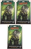 Magic the Gathering (MTG): Ixalan Booster Battlepack Set of 3