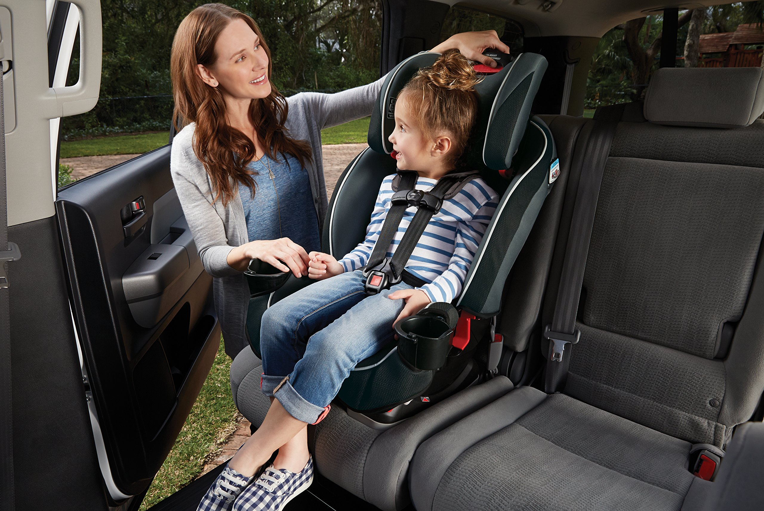 Graco SlimFit 3-in-1 Convertible Car Seat, Darcie by Graco (Image #7)