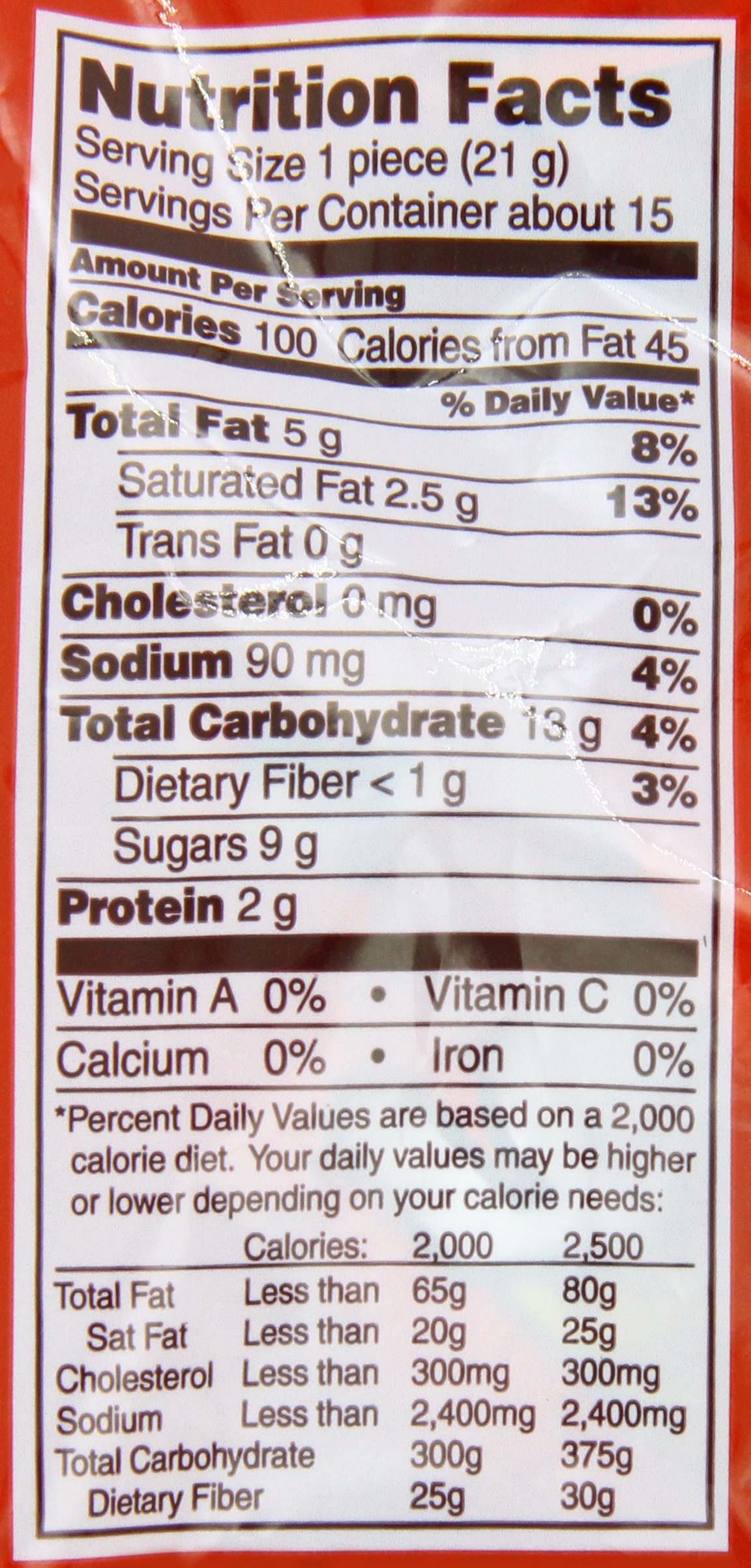 TAKE5 Snack Size Bars (11.25-Ounce Bag, Pack of 6) by Take 5 (Image #2)