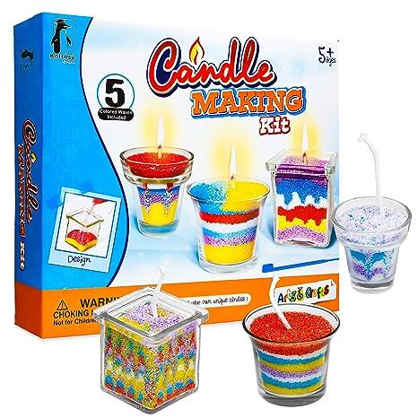Kit para hacer velas, suministros para hacer velas, kit de ...