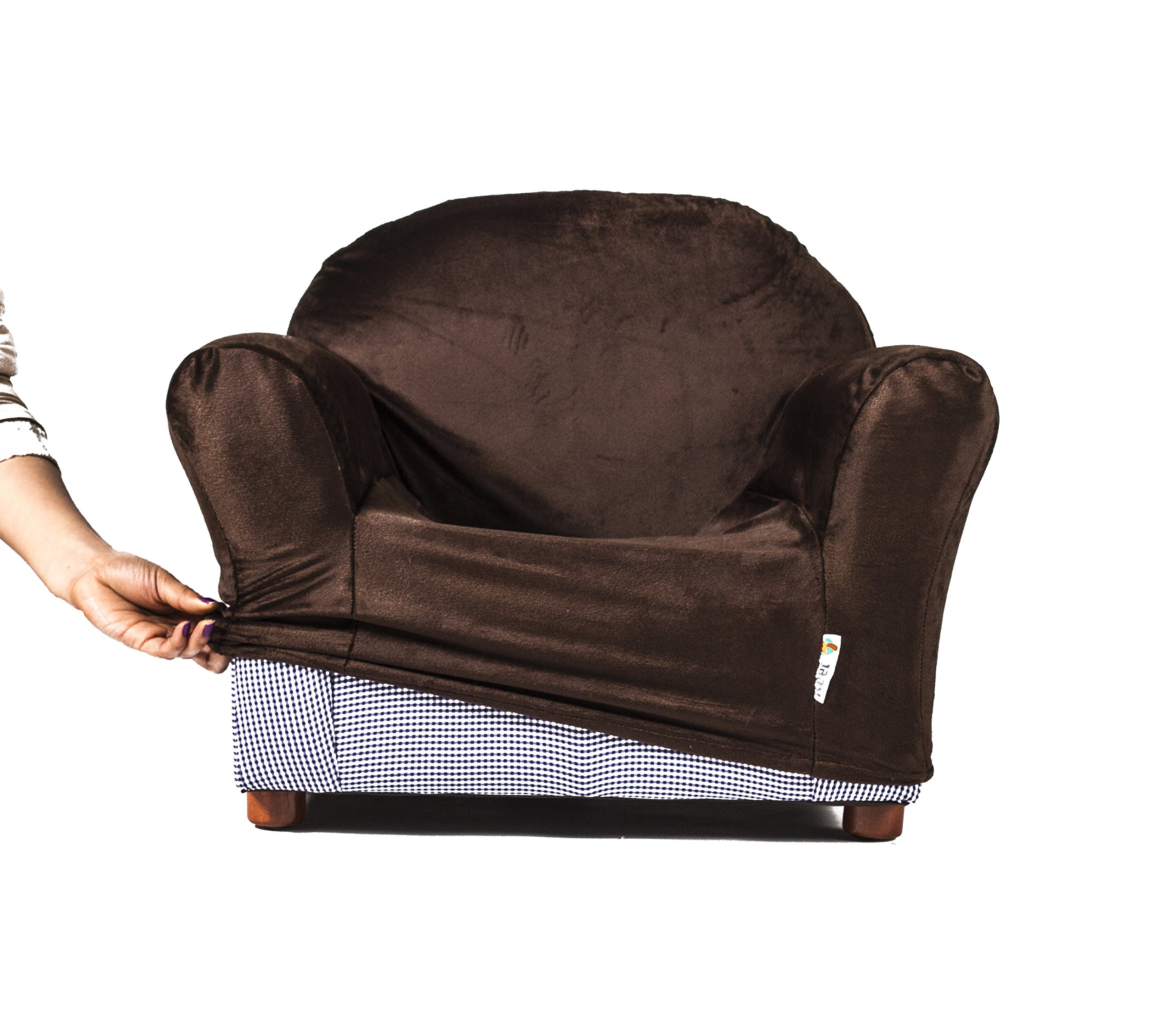 Keet Roundy Kids Chair COVER ONLY, 9 colors available (Brown)