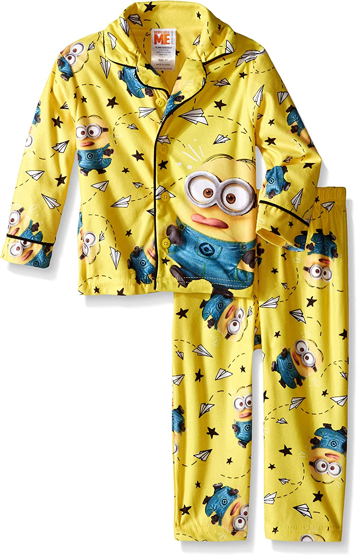 Despicable Me Little Boys Class Clown 2-Piece Pajama Coat Set