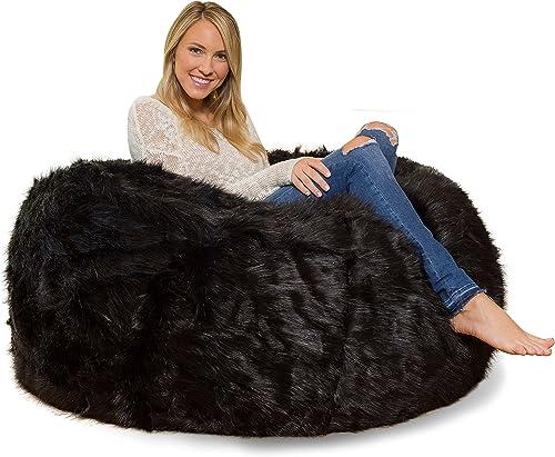Comfy Sacks 4 ft Memory Foam Bean Bag Chair