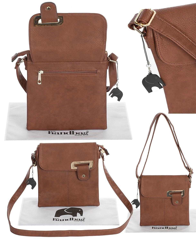 Big Handbag Shop Elegant sac crossbody//sac /à bandouli/ère pour femme Chic et casuel