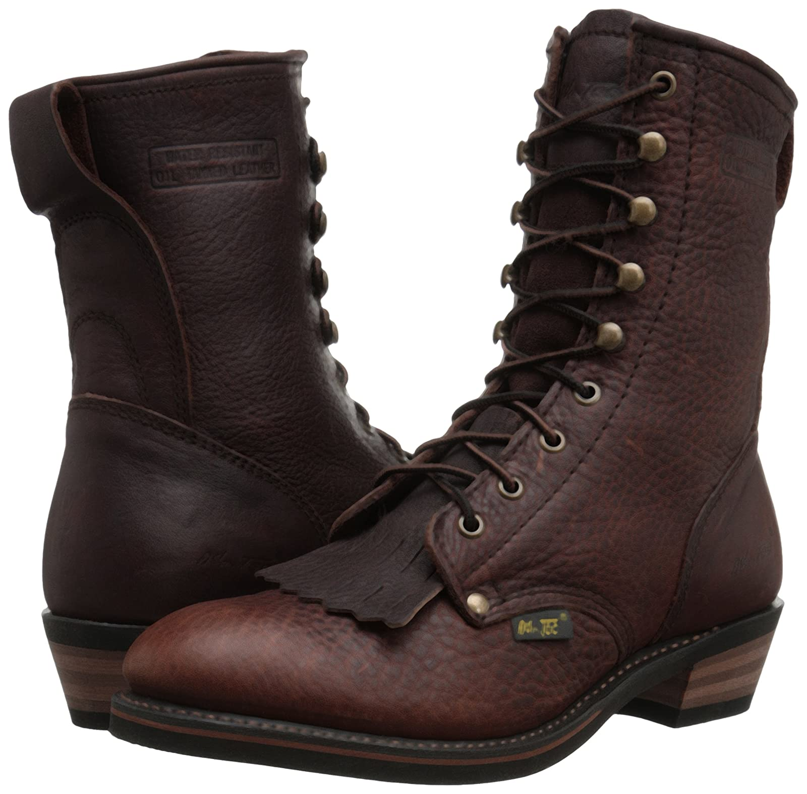 Adtec Men's 9 Inch Packer-M Boot Chestnut 9 M US - 6