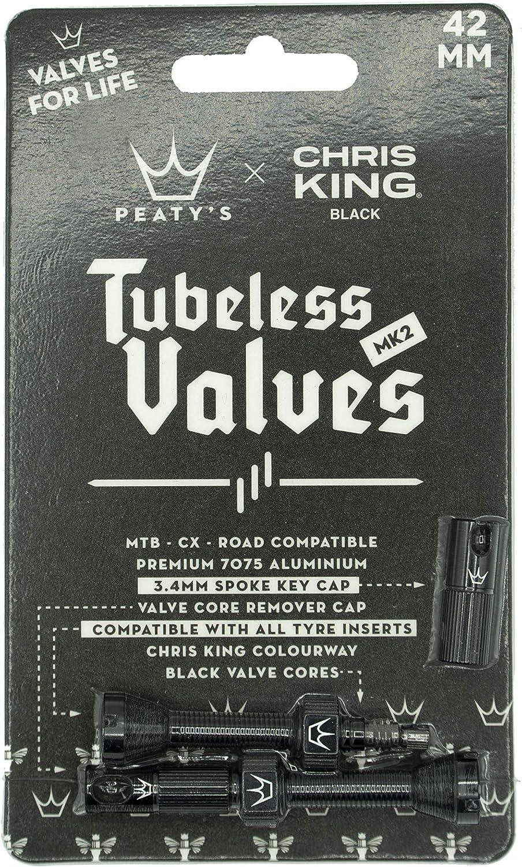 Unisex Adulto 42 mm Peatys MK2 Valves V/álvulas Negro