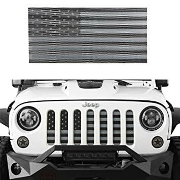 Amazon Com U Box America Us Flag Front Grille Insert Mesh Grill For