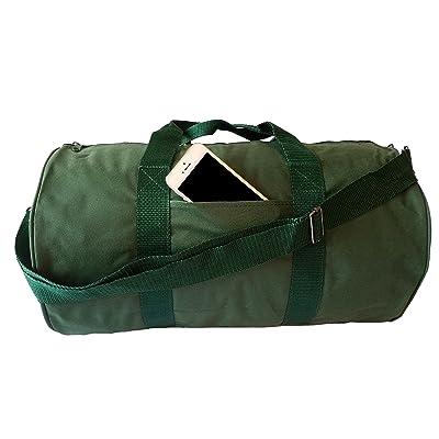 ImpecGear Round Duffel Team Sports Equipment Bags, Travel Gym Fitness Bag.