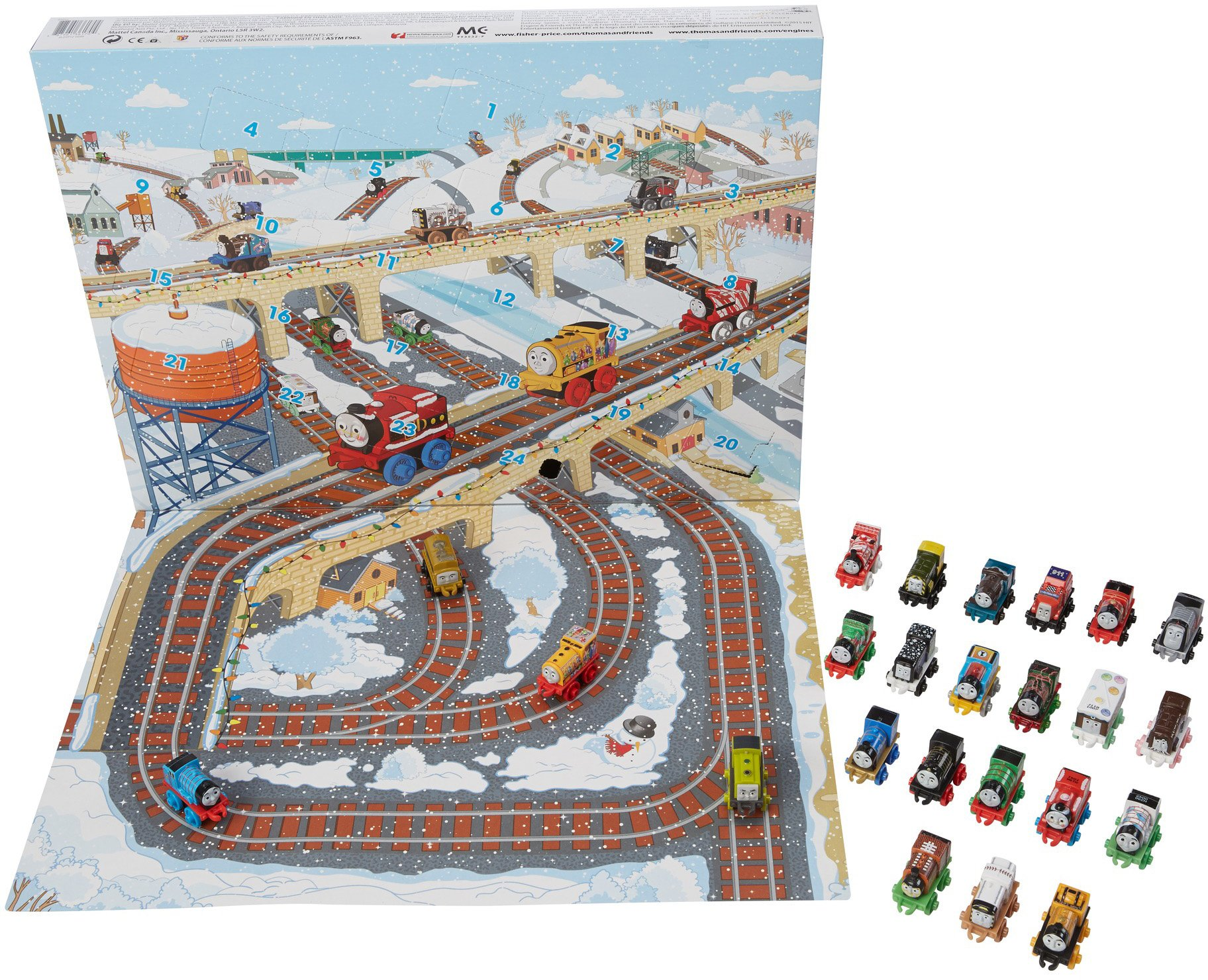 Thomas & Friends Fisher-Price MINIS, Advent Calendar by Thomas & Friends (Image #4)